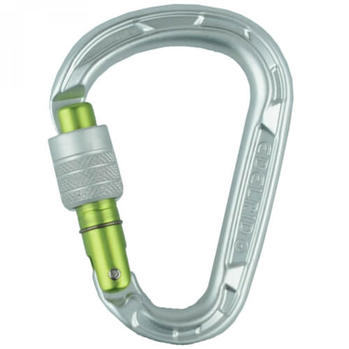 Edelrid HMS Strike Screw silver