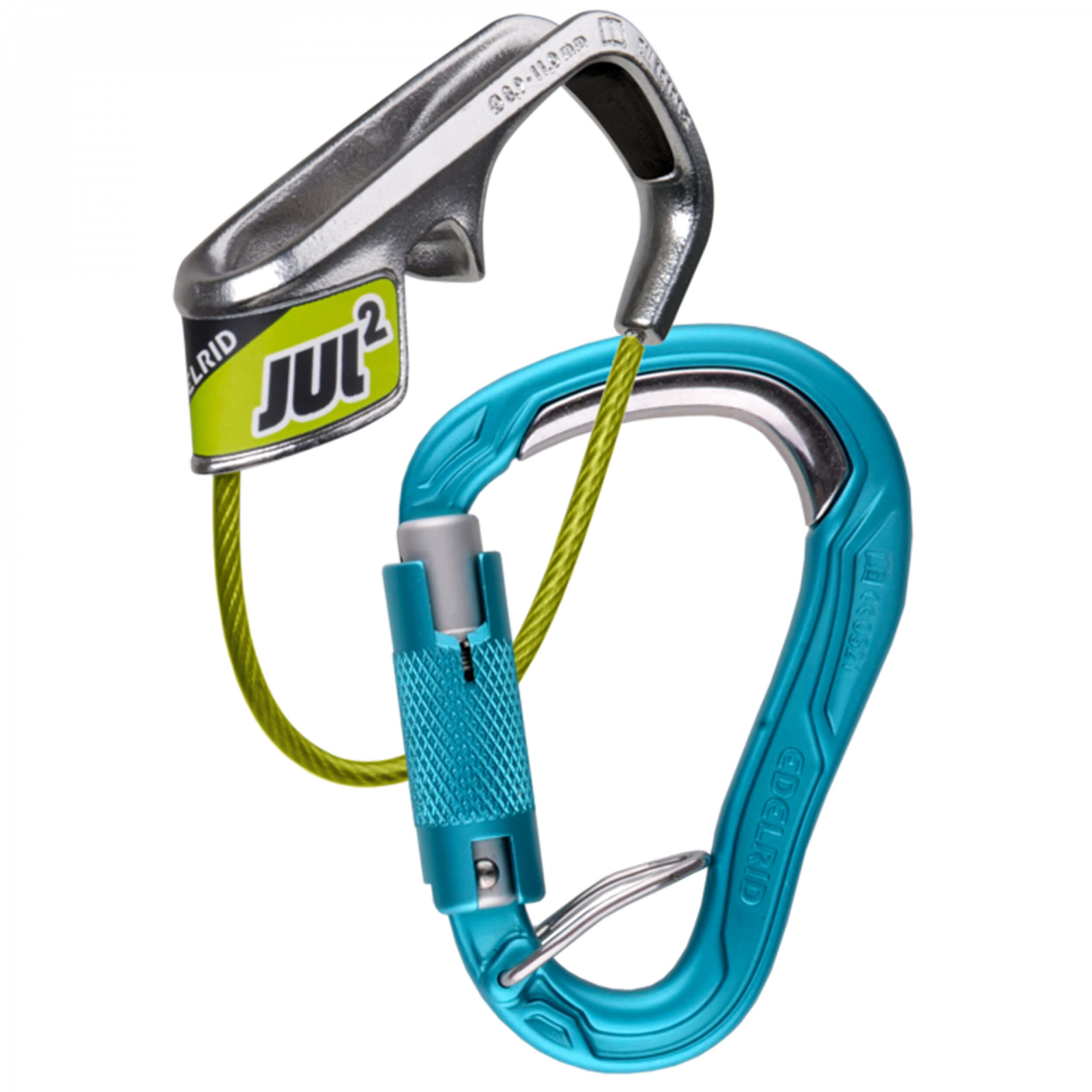 Edelrid Jul 2 Belay Kit Bulletproof Triple icemint