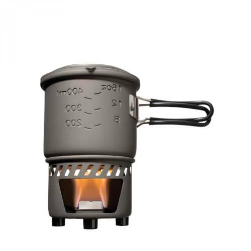 Esbit Trockenbrennstoff-Kochset 585ml ohne Antihaftbeschichtung
