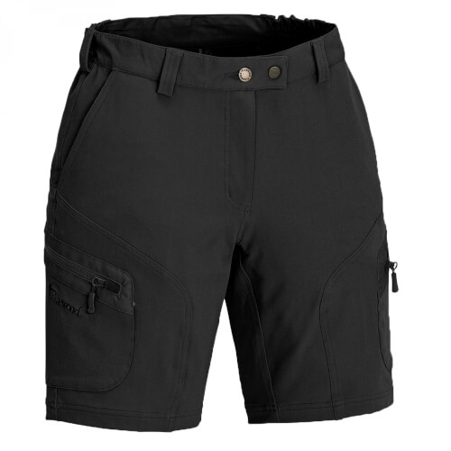 Pinewood Wildmark Stretch Shorts Damen schwarz