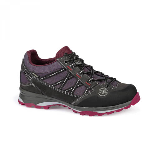 Hanwag Belorado II Low Lady GTX asphalt/dark garnet