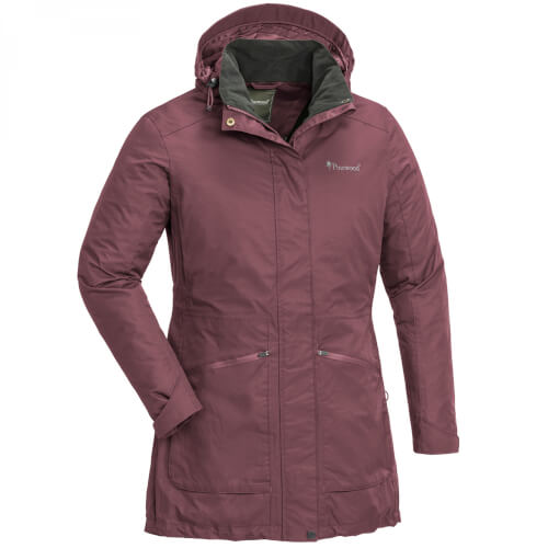 Pinewood Wilda Damen Parka plum