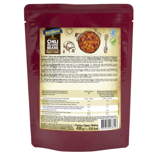 Bla Band Chili sin carne with kidney beans
