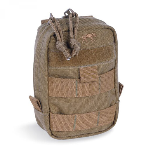 Tasmanian Tiger Tac Pouch 1 Vertical coyote brown