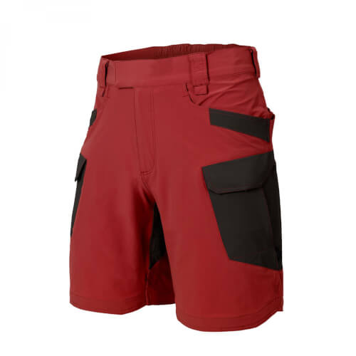 "Helikon-Tex OTS (OUTDOOR TACTICAL SHORTS) 8.5"" - VERSASTRECTH® LITE crimson sky/black"