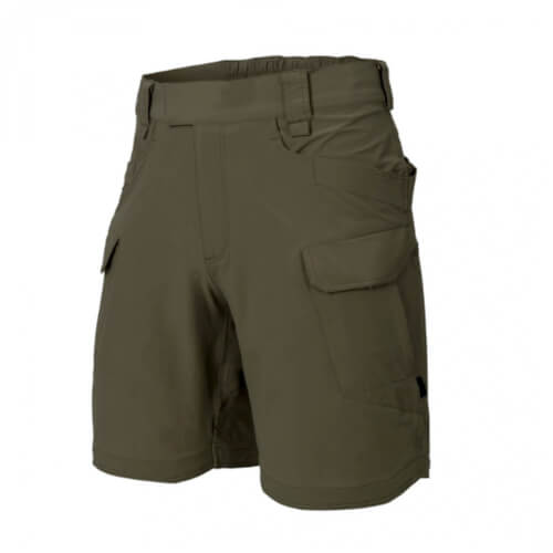 "Helikon-Tex OTS (OUTDOOR TACTICAL SHORTS) 8.5"" - VERSASTRECTH® LITE taiga green"