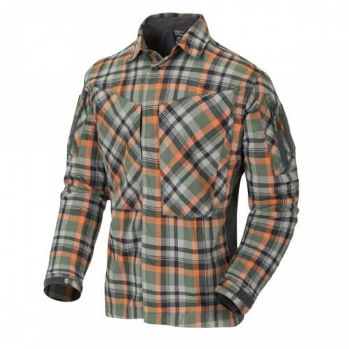 Helikon-Tex MBDU Flannel Shirt - Timber Olive Plaid