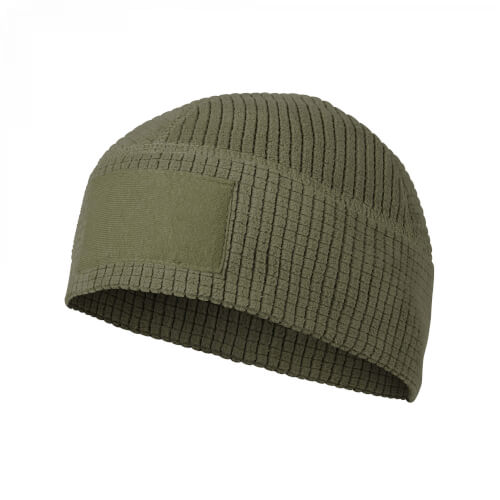 Helikon-Tex Range Beanie Cap - Grid Fleece olive green