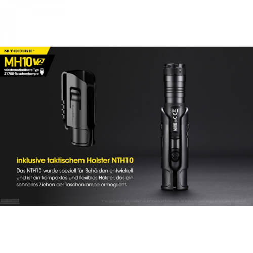NiteCore MH10 V2 - 1200 Lumen