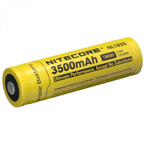 NiteCore Li-Ion-Akku Typ 18650 - 3500mAh - NL1835