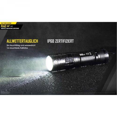 NiteCore R40 V2 - 1000 Lumen