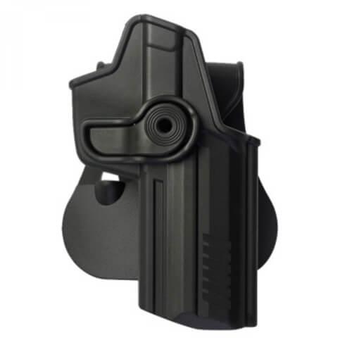 IMI Holster Z1220, H&K 45/45c Holster für Rechtsschützen schwarz