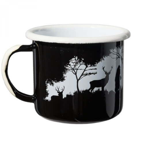 Helikon-Tex WILD CAMP ENAMEL MUG 0,35L black/ white