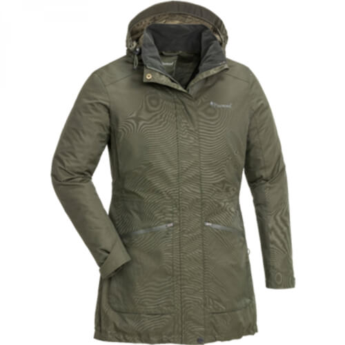 Pinewood Wilda Damen Parka mossgreen