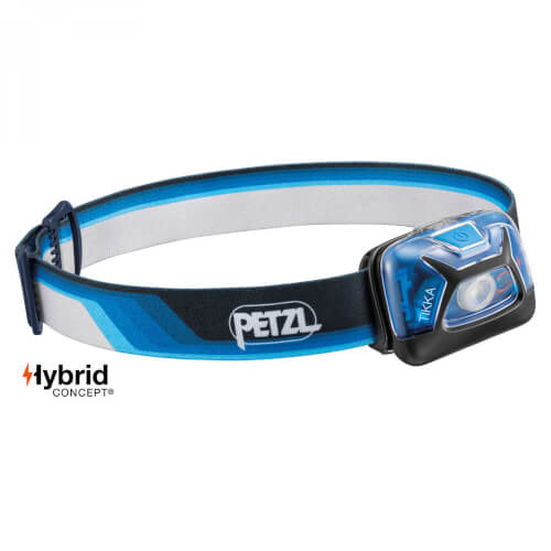 Petzl TIKKA Core 300 Lumen blau Limited Edition