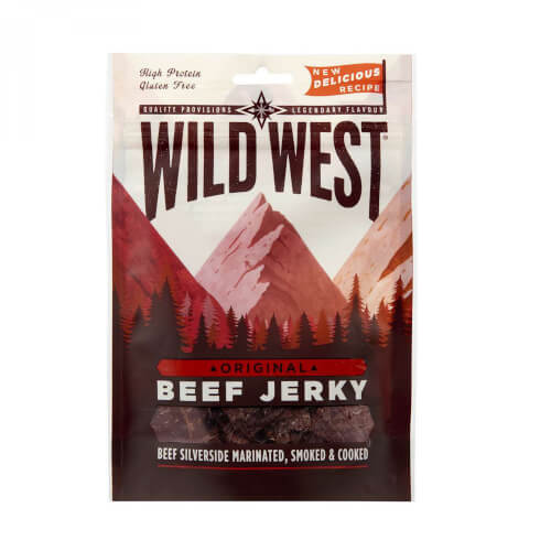 Wild West Beef Jerky Original 70g