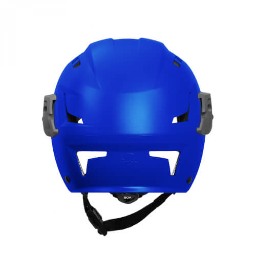 Team Wendy EXFIL SAR Backcountry Helmet with Rails blue