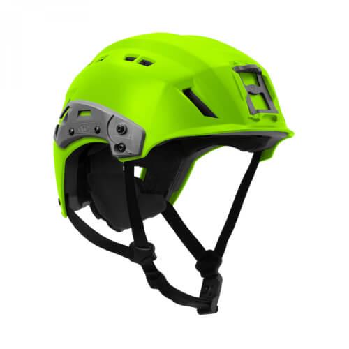 Team Wendy EXFIL SAR Backcountry Helmet with Rails High-Viz Green