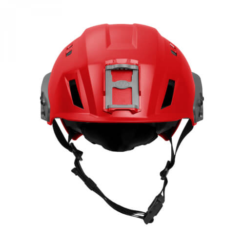 Team Wendy EXFIL SAR Backcountry Helmet with Rails red