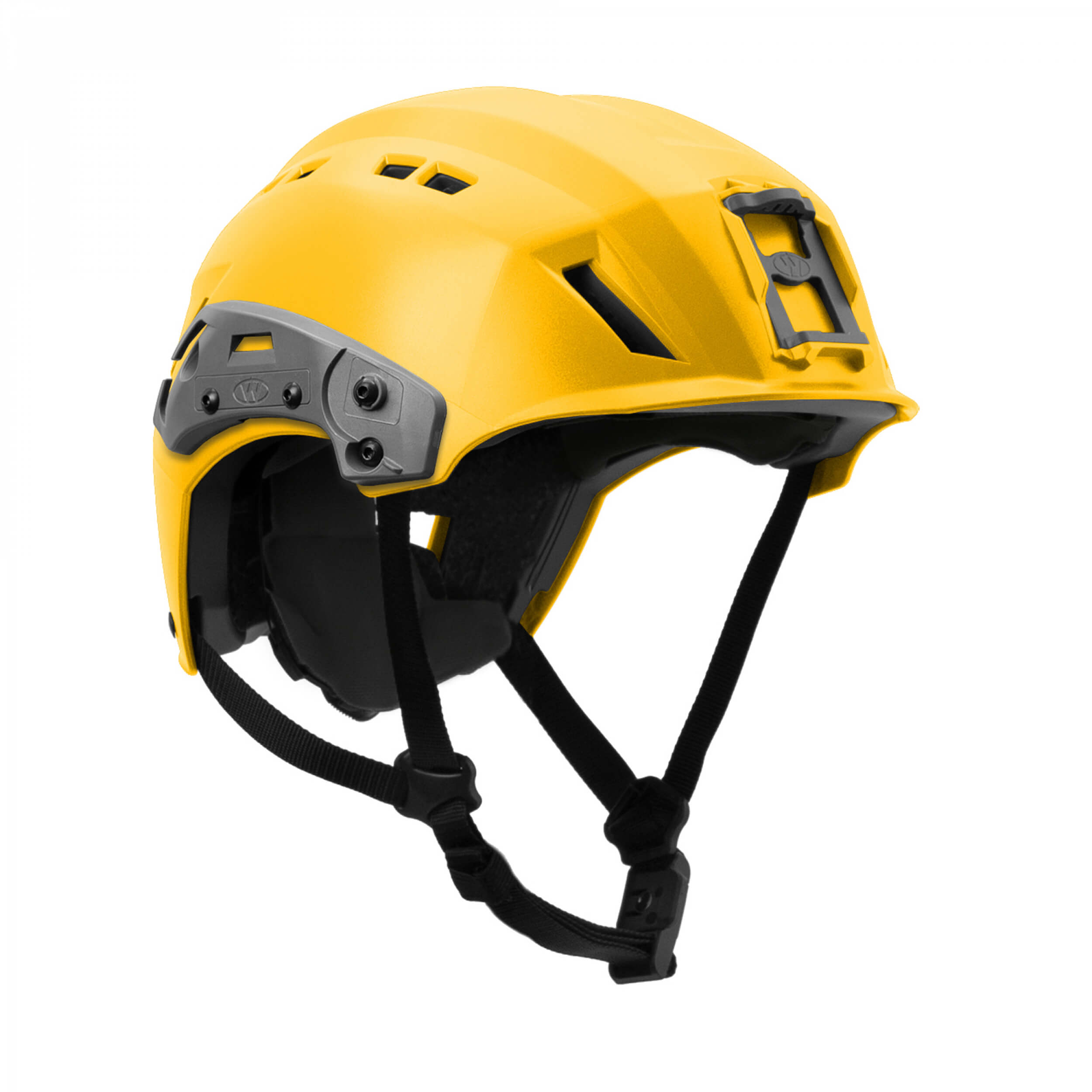 Team Wendy EXFIL SAR Backcountry Helmet with Rails yellow