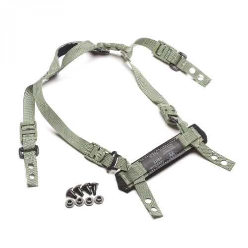 Team Wendy CAM FIT H-Back Retention System foliage green