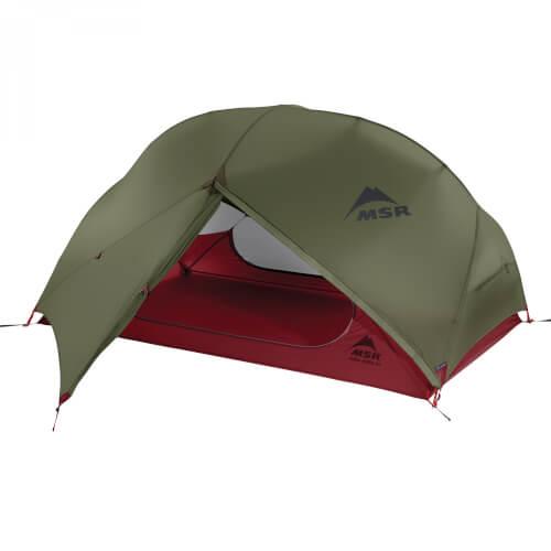 MSR Ultraleichtes Zwei-Personen-Zelt für Rucksacktouren Hubba Hubba NX 2 green