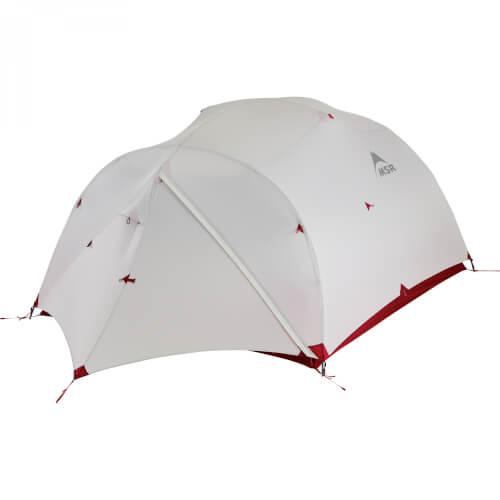 MSR Mutha Hubba NX ultraleichtes Drei-Personen Zelt für Rucksacktouren gray