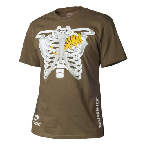 Helikon-Tex T-Shirt (Chameleon in Thorax) - Cotton coyote