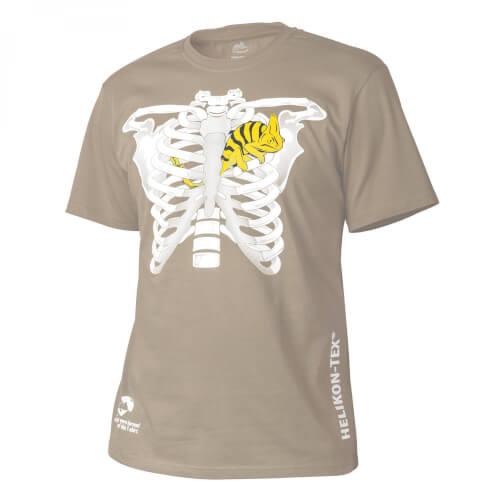 Helikon-Tex T-Shirt (Chameleon in Thorax) - Cotton khaki