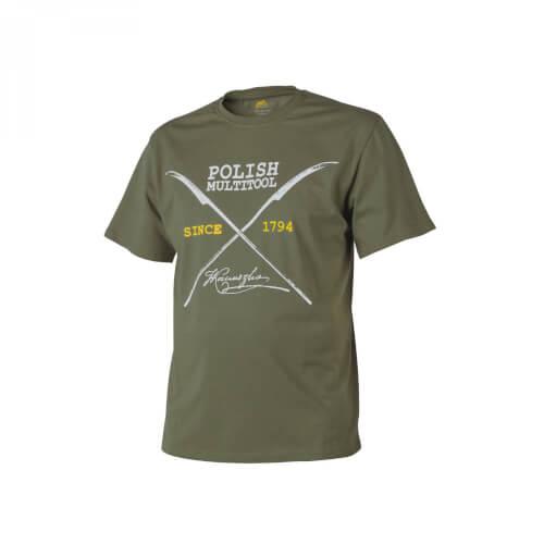 Helikon-Tex T-Shirt (Polish Multitool) - Cotton olive green