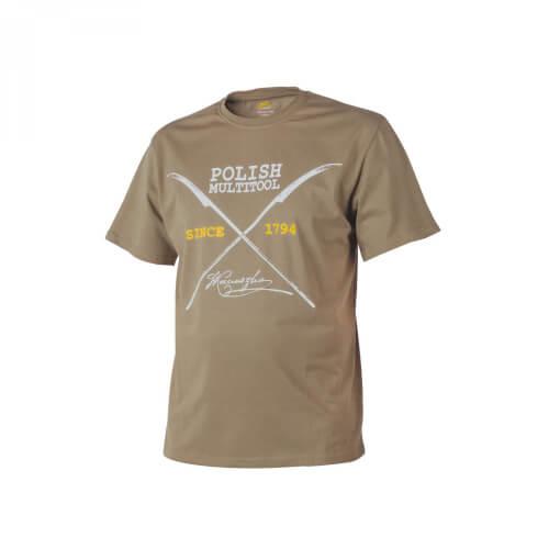 Helikon-Tex T-Shirt (Polish Multitool) - Cotton coyote