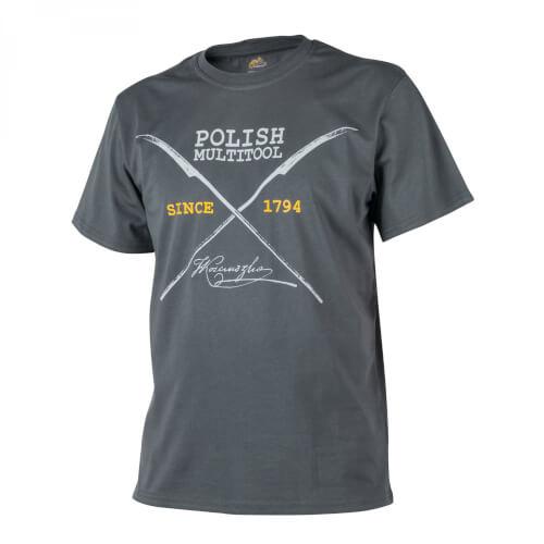 Helikon-Tex T-Shirt (Polish Multitool) - Cotton shadow grey