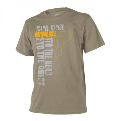 Helikon-Tex T-Shirt (Travel Advice: Mozambique) - Cotton khaki