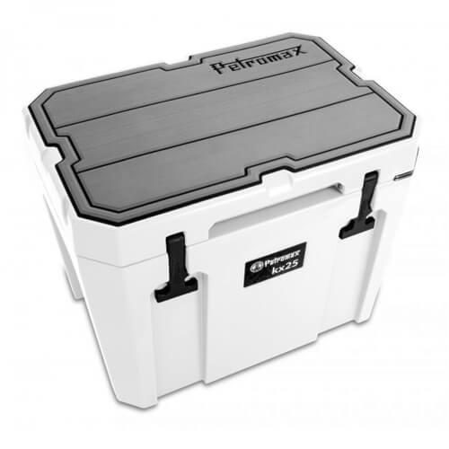 Petromax Haft-Auflage für Kühlbox Linien grau