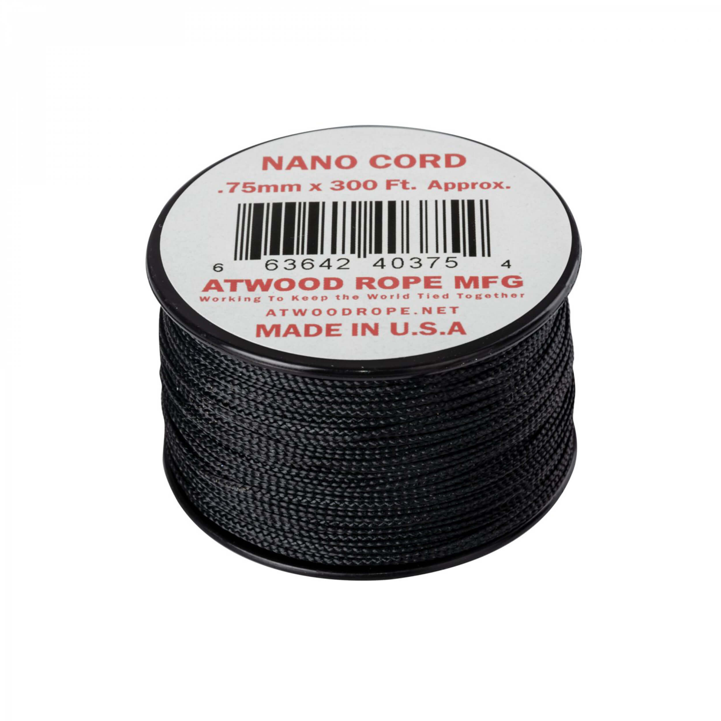 Helikon-Tex Nano Cord (300FT) black