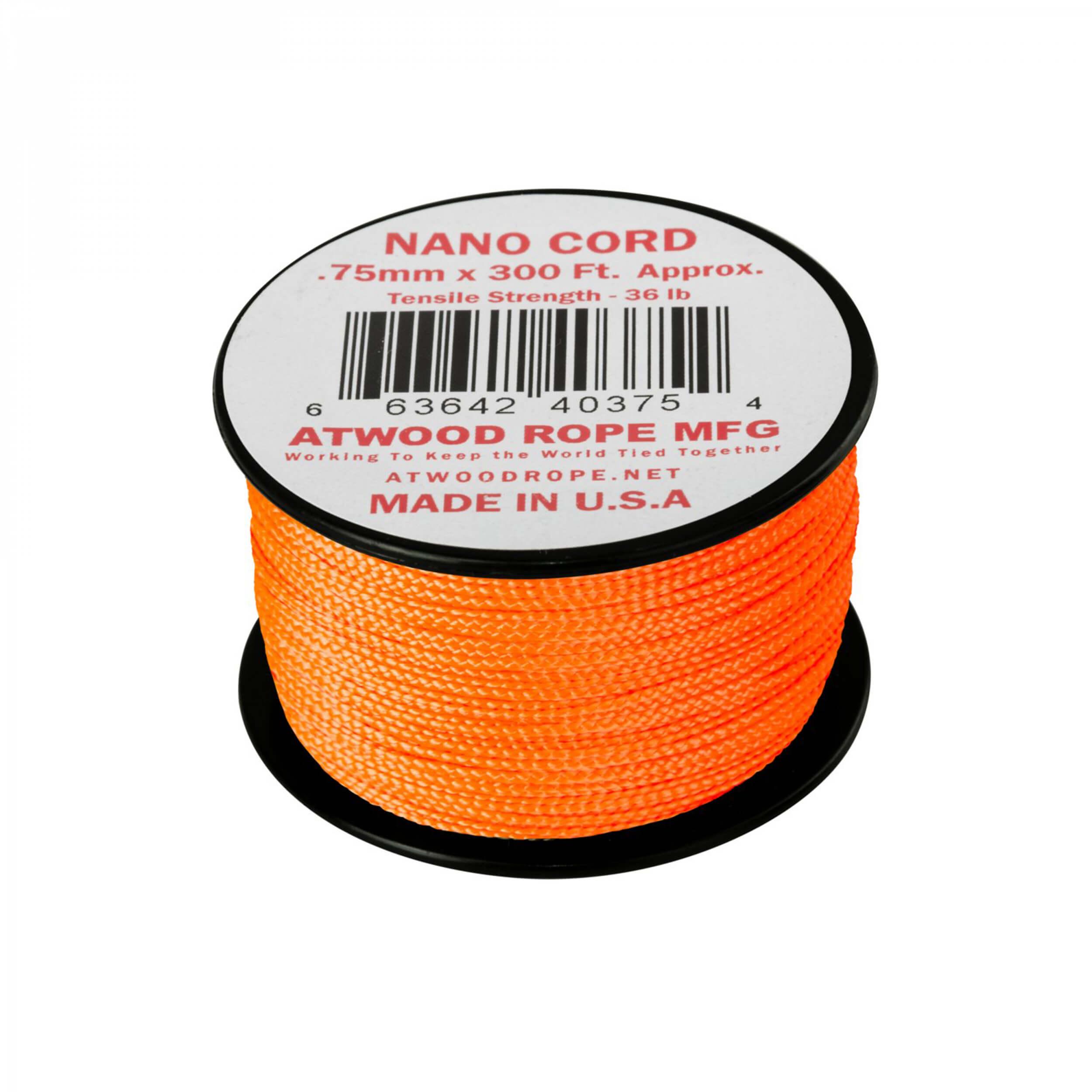 Helikon-Tex Nano Cord (300FT) neon orange
