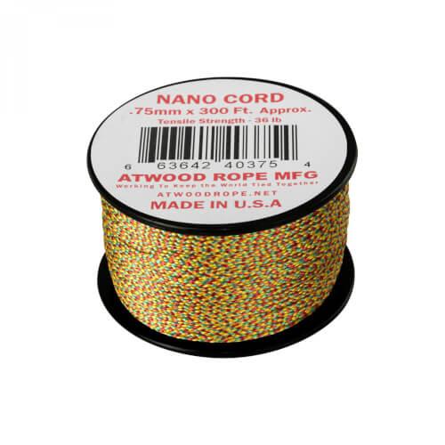 Helikon-Tex Nano Cord (300FT) black jamaican me crazy