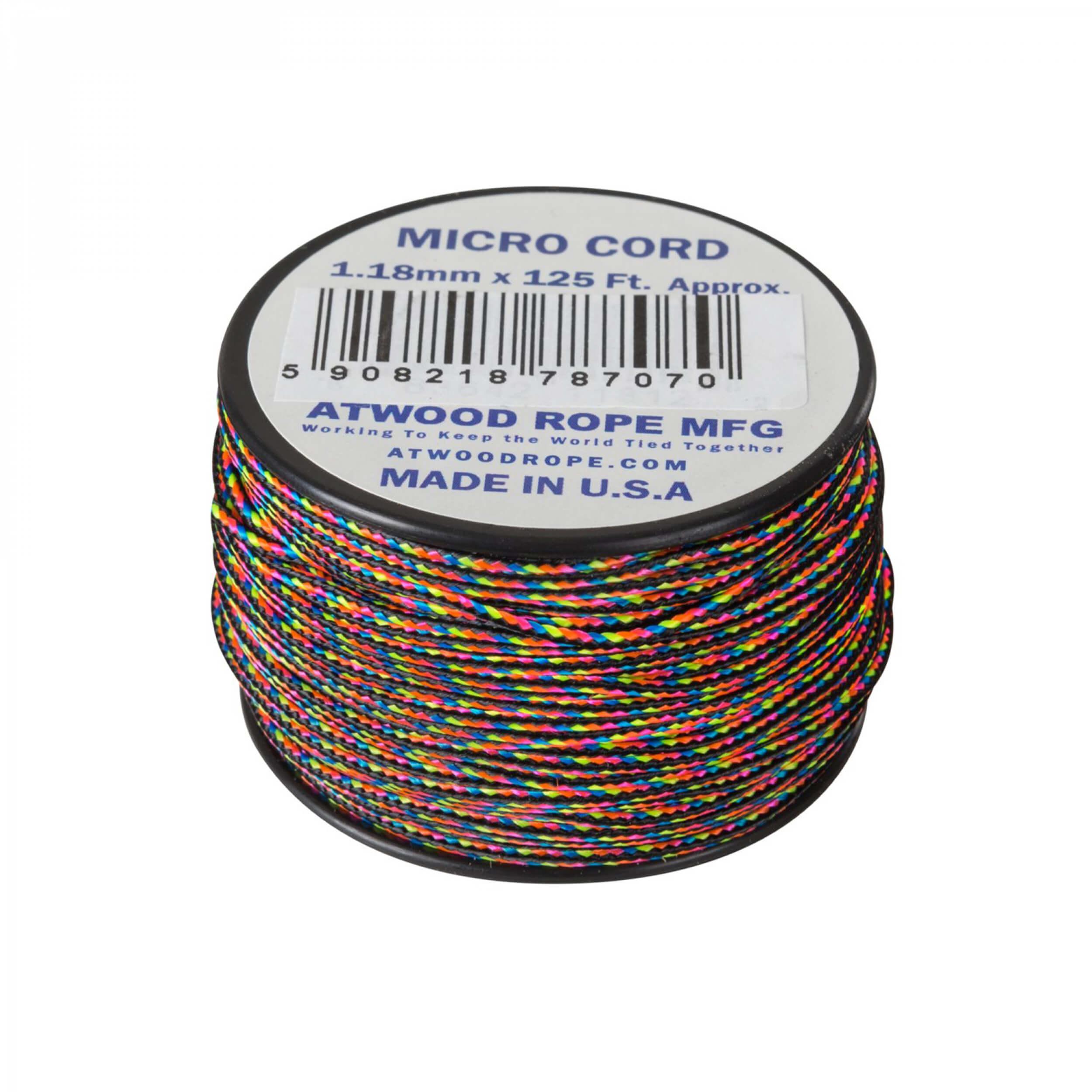 Helikon-Tex Micro Cord (125 FT) dark stripes