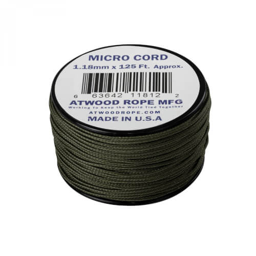 Helikon-Tex Micro Cord (125 FT) olive drab