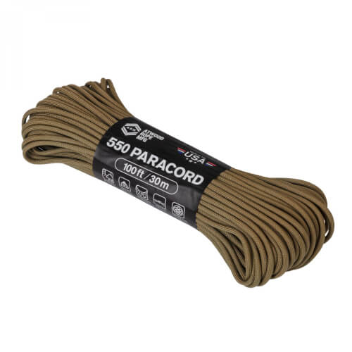 Helikon-Tex 550 Paracord (110FT) coyote