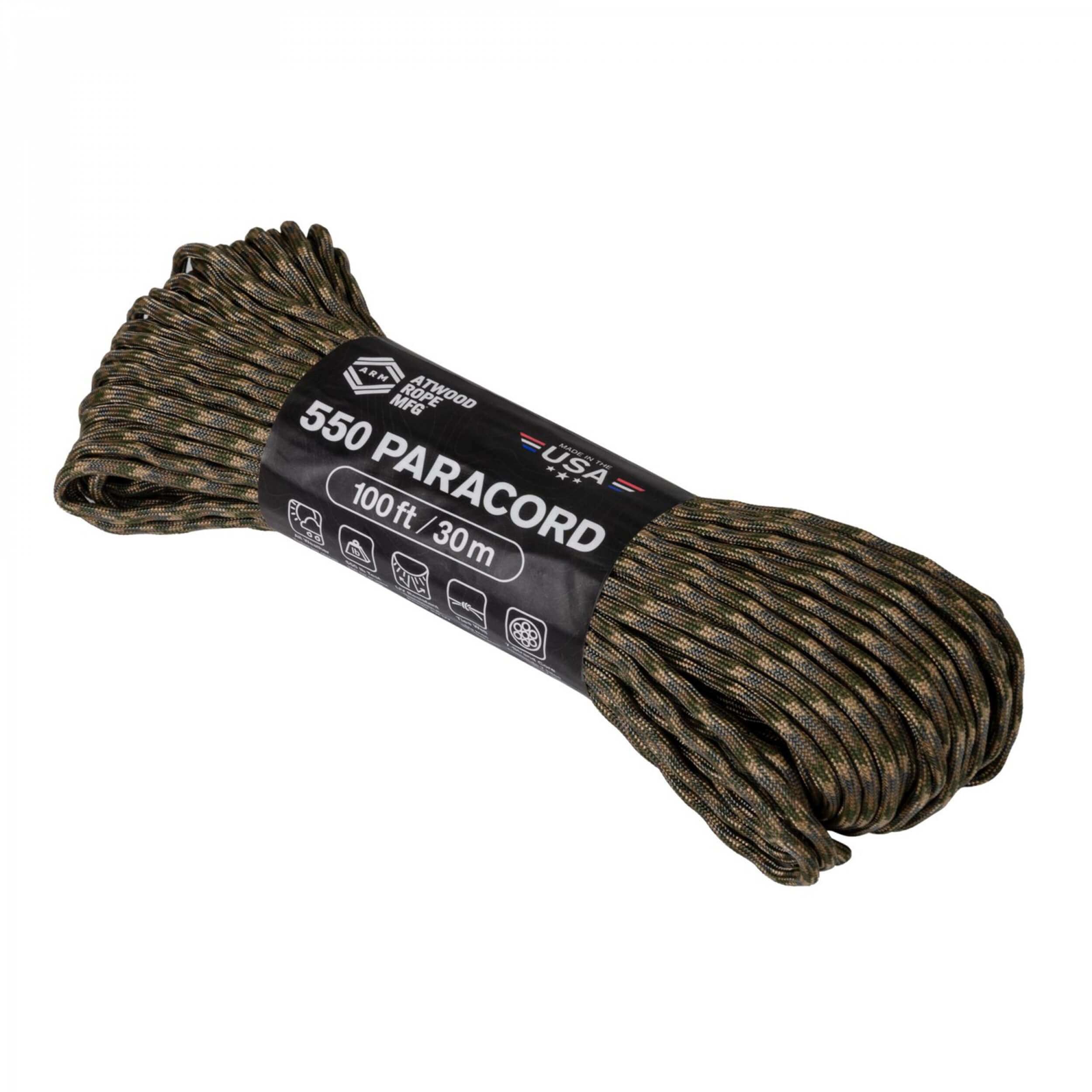 Helikon-Tex 550 Paracord (110FT) multicam