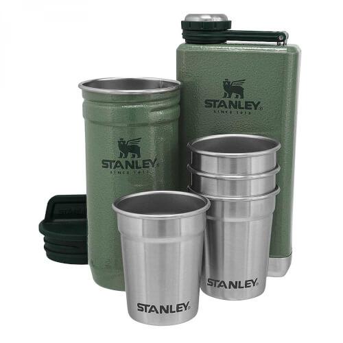 Stanley Adventure Shot & Flask Gift Set 236 ml grün