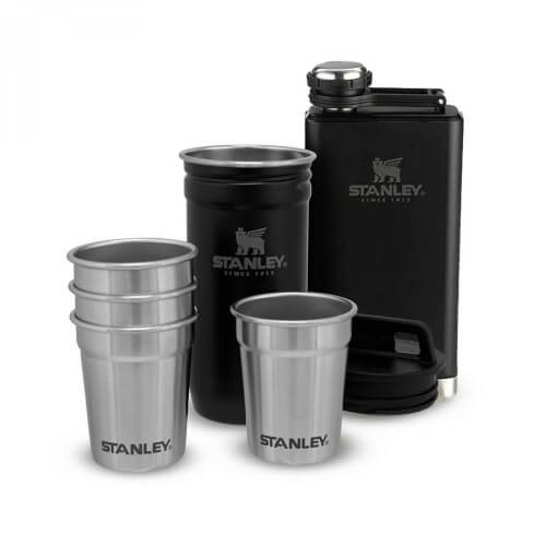 Stanley Adventure Shot & Flask Gift Set 236 ml schwarz
