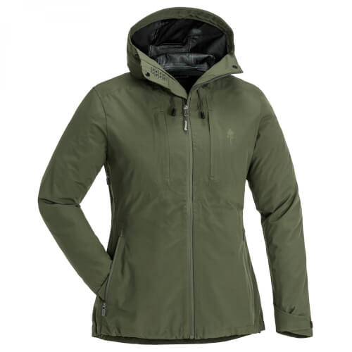 Pinewood Telluz Damen Jacke moosgreen