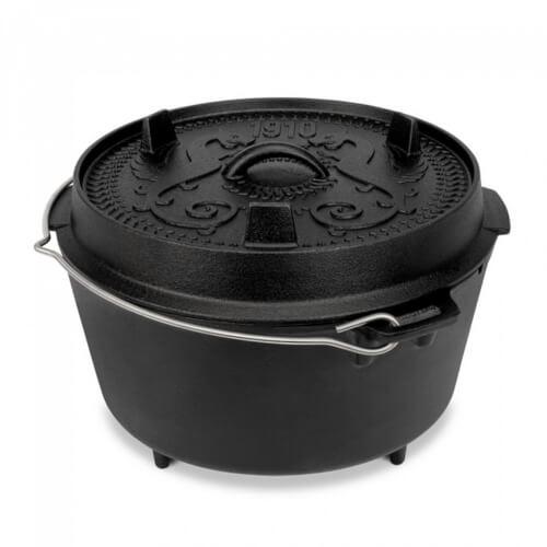 Petromax Feuertopf (Dutch Oven) mit Füßen ft9-t Jubiläumsedition