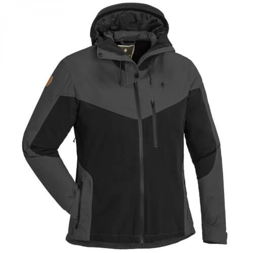 Pinewood Jacket Finnveden Hybrid Extrem Damen Jacke black/ d.anthracite