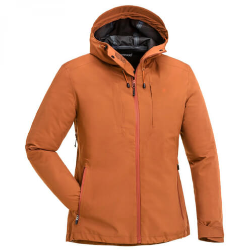 Pinewood Telluz Damen Jacke burned orange