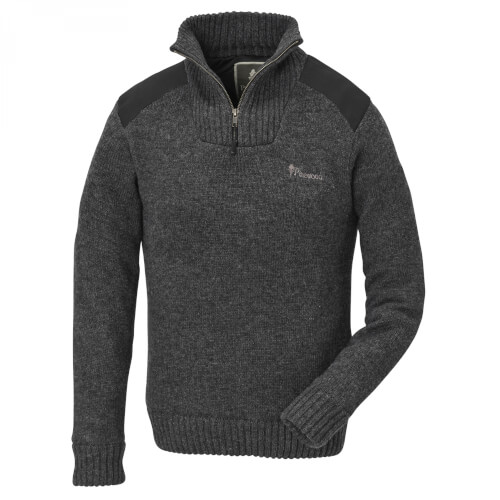 Pinewood Hurricane Sweater Damen d.grey melange