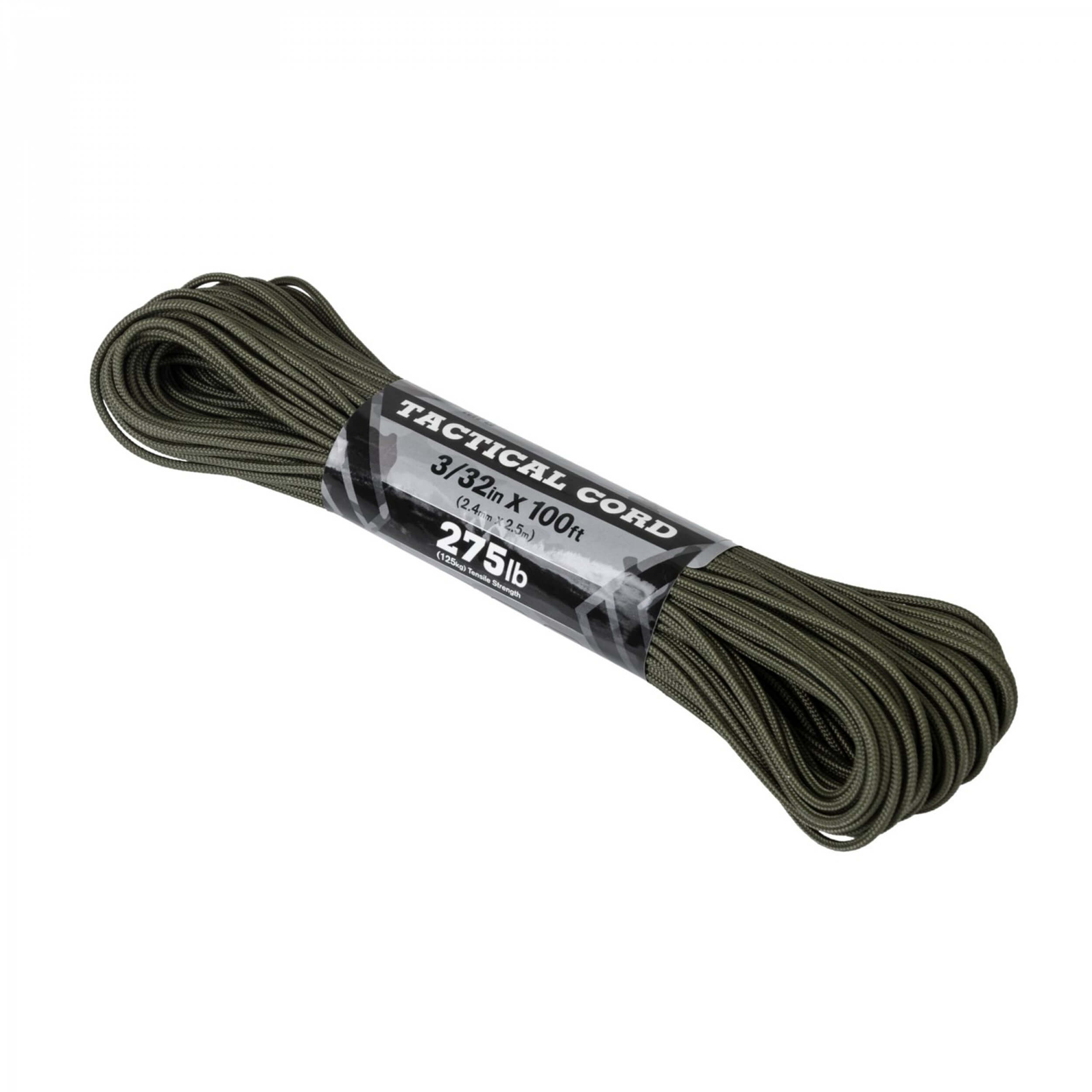Atwood Rope Tactical 275 cord ( 100ft) olive drab