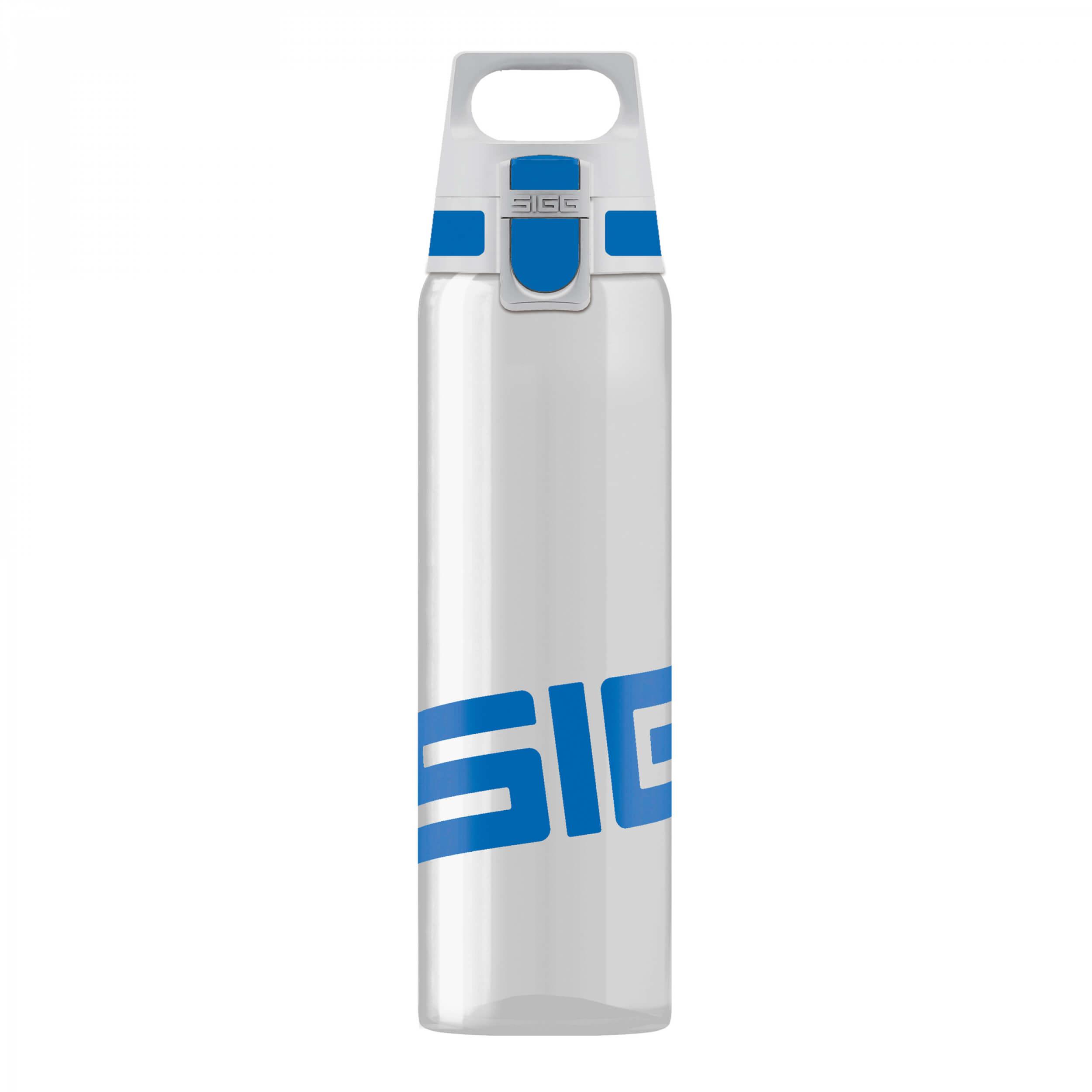SIGG Trinkflasche Total Clear One 0,75L blau